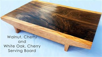 Walnut, Cherry and White Oak, Cherry